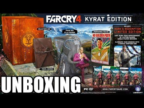UNBOXING | Far Cry 4 Kyrat Edition