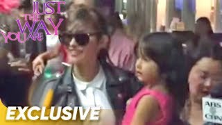 Warm welcome for Liza and Enrique at San Francisco airport