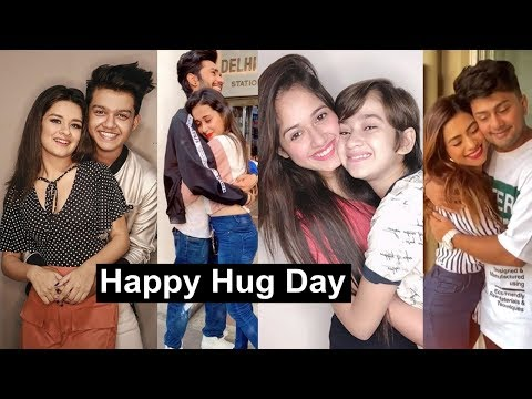 Happy Hug Tiktok Videos | Jannat, Anushka, Riyaz, Manjul, Avneet, Awez, Ashika
