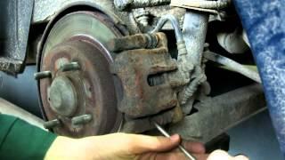 Naprawa układu hamulcowego pojazdu