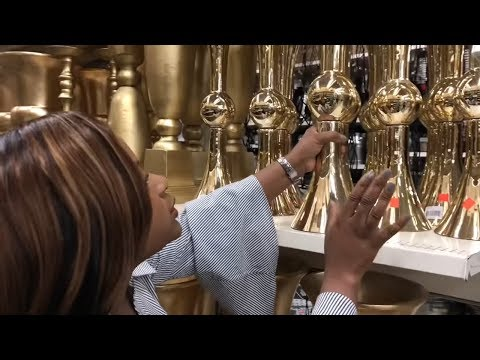 "VLOG: COME SHOP WITH ME ALL THINGS LUXURIOUS ""GLAM DECOR"""