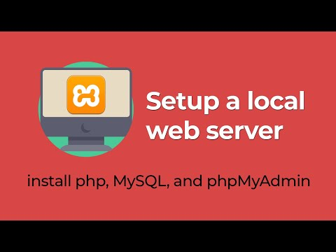 Setup A Local Server In Windows | How To Install PhpMyAdmin, PHP, And MySQL