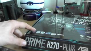 hw: Quick Look: - ASUS Prime H270 Plus