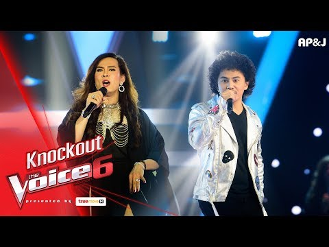 Knock Out : ต้อม - Feeling Good VS เพียว - Man In The Mirror - The Voice Thailand 6  - 21 Jan 2018