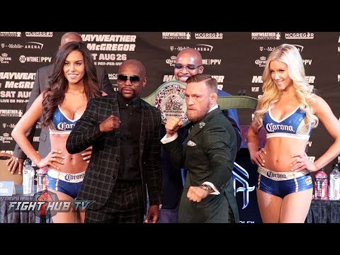 Live: Mayweather vs McGregor Final Press Conference