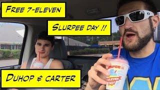 Duhop 7-Eleven FREE SLURPEE DAY