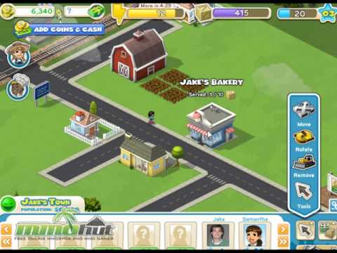 CityVille Gameplay Footage