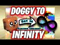 ZOMG doggy to infinity *PARTNER UNICORN?* (day 14)   bubble gum simulator