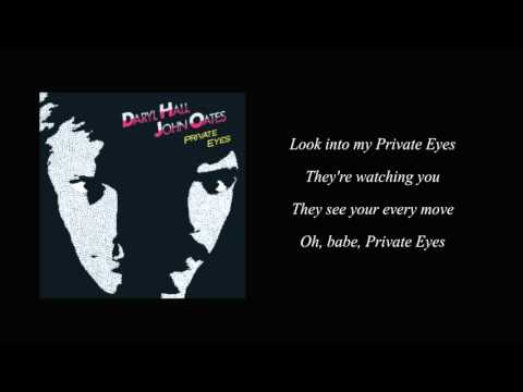 Private Eyes (Hall & Oates)  Lyrics