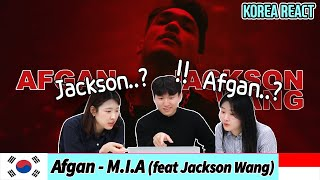 Download 😍Korean Reaction😍Afgan - M.I.A (feat. Jackson Wang) (Official MV)| Indonesia