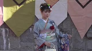着物フアッションショー2018高松秋の祭り野外ステージ thumbnail