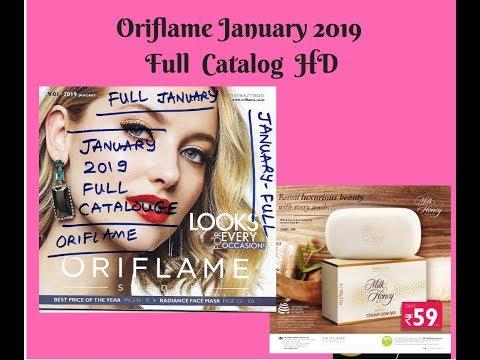 Oriflame January 2019 Full Catalog HD