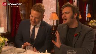 Interview Kenneth-Branagh & Tom Bateman  MURDER ON THE ORIENT EXPRESS