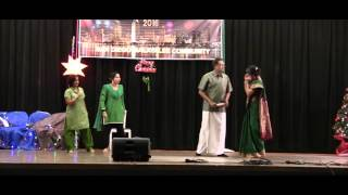 SD Malayalee - Xmas/New Year 2016 - Comedy Skit - San Diego Kudumba Puranam