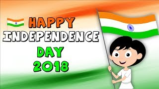 Happy Independence Day Video | Indian Independence Day Celebration | 15th August | Kids Rhymes