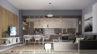 Proiecte rezidentiale - Proiect Apartament Bucuresti stil nordic | Design interior Studio Insign(, 2017-01-19T18:32:37.000Z)