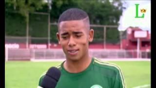Gabriel no Globo Esporte