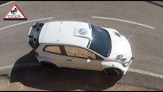 Test Volkswagen Polo R WRC Preview RallyRACC 2013 [Passats de canto]