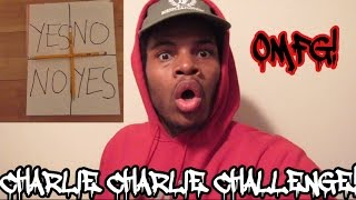 CHARLIE CHARLIE CHALLENGE! DEMON ATTACKED ME!!