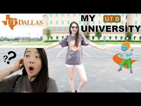 [上集]參觀我的大學| 德州大學之達拉斯分校|UTDallas by NiniFun❤