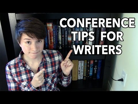 Conference Tips for Writers