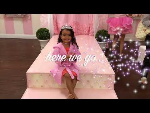 Little Princess Spa- Ellah's 4th Birthday