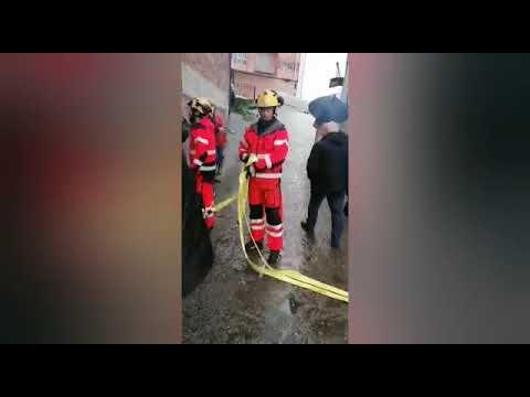 Los garajes de Casimiro Gómez volvieron a inundarse