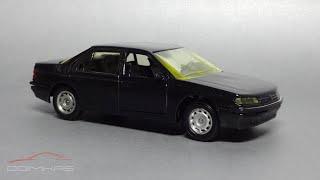 Peugeot 605 1989 || Solido || Масштабные модели французских автомобилей 90-х 1:43