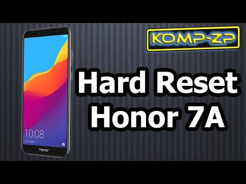 Сброс на заводские настройки смартфона Honor 7A. Ремонт Honor DUA-L22. Часть 1