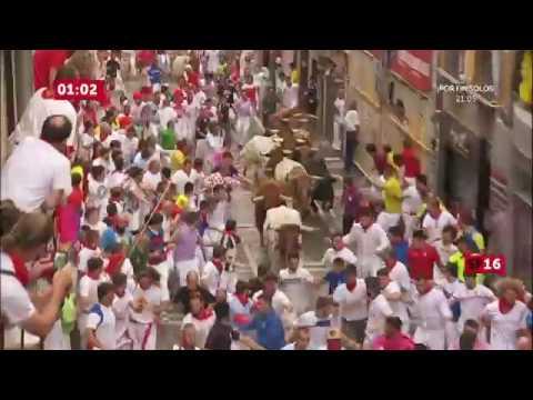 SPAIN BULL RUN 2016 DAY 4 PAMPLONA
