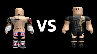 CM Punk vs Randy Orton *Roblox*