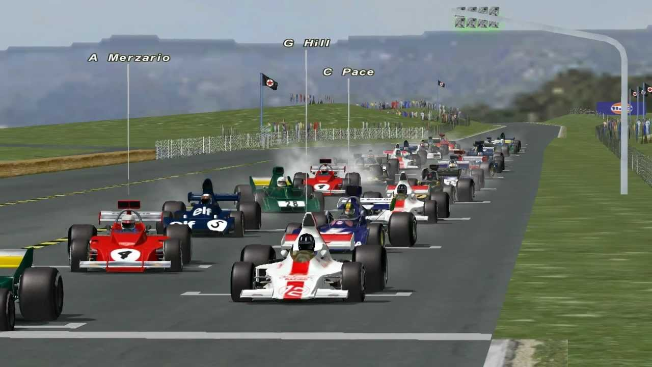 Rfactor F1 1973 Race At Zandvoort 67 Youtube