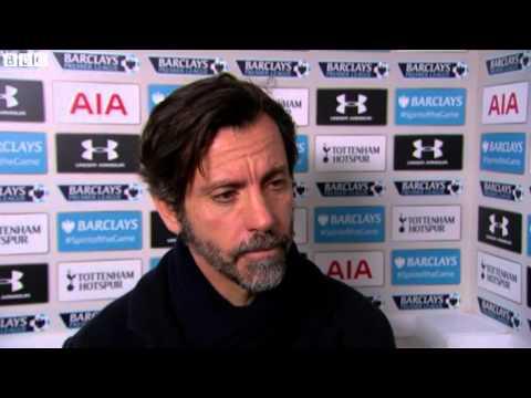 Tottenham 1-0 Watford Spurs were amazing Quique Sanchez Flores
