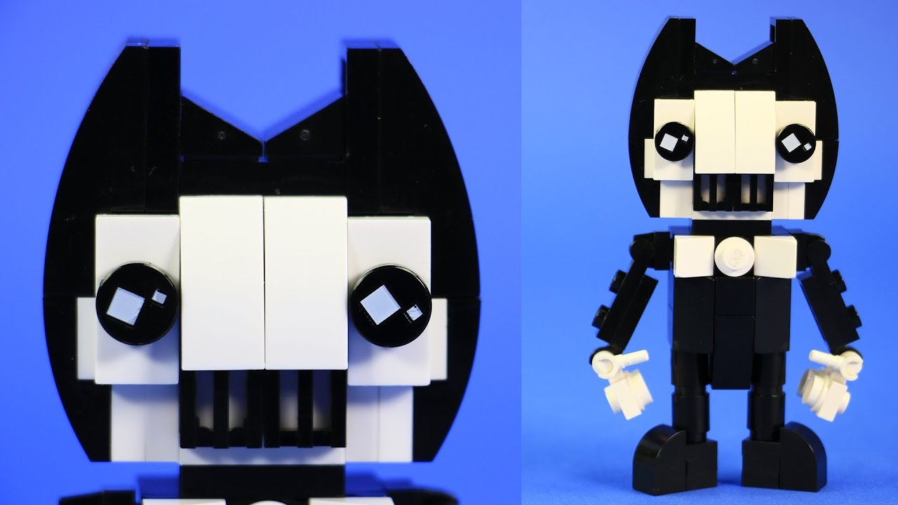 How to Build LEGO Bendy | Custom Bendy and the Ink Machine ...