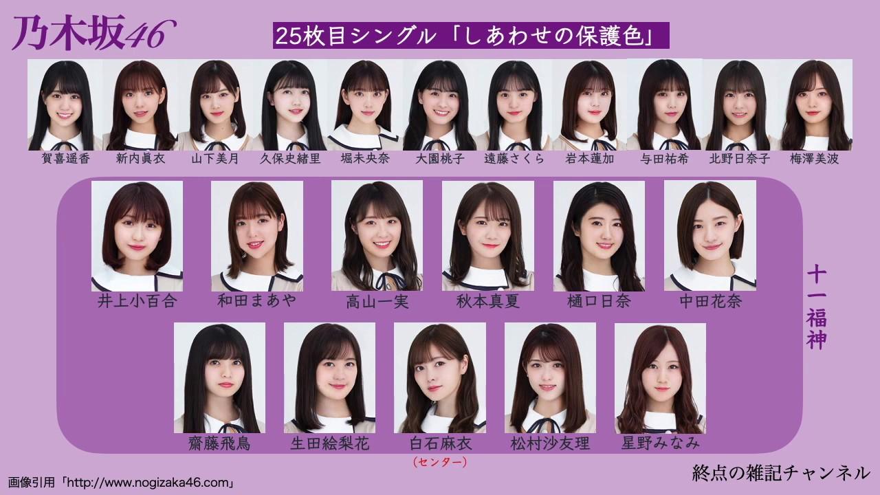 乃木坂 25th 選抜