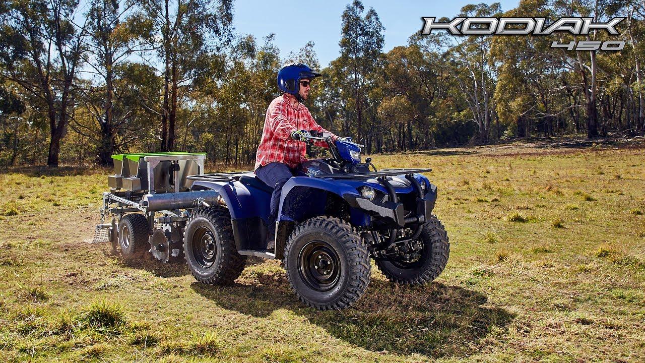 Kodiak 450 Yamaha Motor Australia