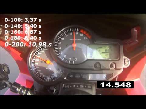 Honda VTR 1000 F acceleration