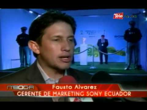 Sony Ecuador exhibió en Guayaquil La Copa Mundia de la FIFA 2014