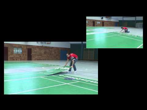 Mobile Badmintoncourt - Building Guide, English