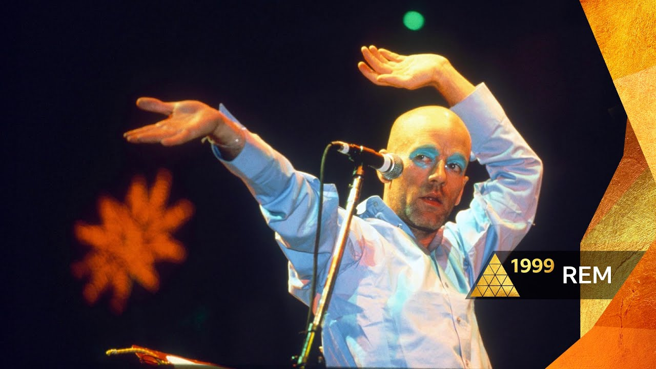 R.E.M - Losing My Religion (Glastonbury 1999)
