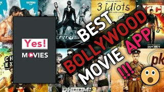 Best Bollywood Movie App 2018 !!! ( Yes! Movies )