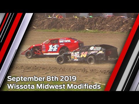 September 8th 2019, LOWS Wissota Midwest Modifieds Heats & Feature
