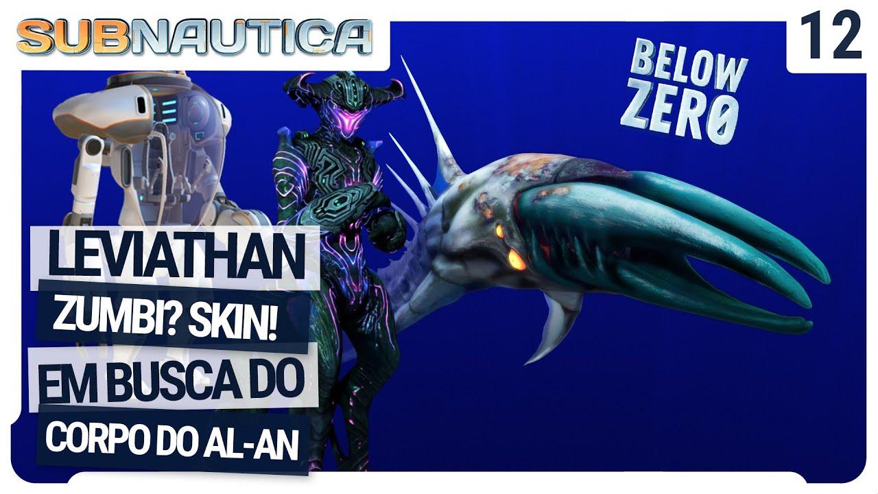 Leviathan Zumbi? O Chelicerate do void e a busca pelo corpo do Al-An - Subnautica Below Zero