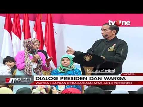 Lucu! Dialog Presiden Jokowi Dengan Emak-Emak di Program Keluarga Harapan Mp3