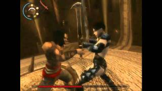 Prince of Persia Warrior Within Part 5  fighting with lady boss Shahdee Gameplay Video