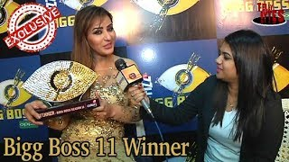 Shilpa Shinde's Winning Interview Bigg Boss 11
