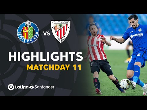 Getafe Ath. Bilbao Goals And Highlights