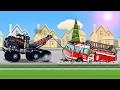 Trucks Cartoon for Children - Tow Truck, Fire Truck, Crane : Diggers for Kids  | Service Vehicles