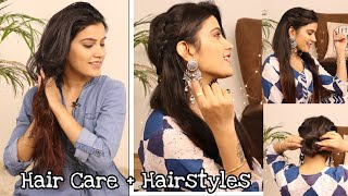 Easy Hairstyles  For Festive + Hair Tips   Super Style Tips