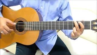"Josh Groban You Raise Me Up Guitar Lesson (Intro) ""Fingerstyle"" No Capo - Guitar Lesson for Beginner"